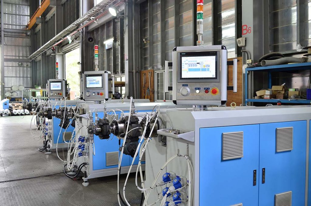 Everplast Single Screw Extruder Machine-Human Face Machine