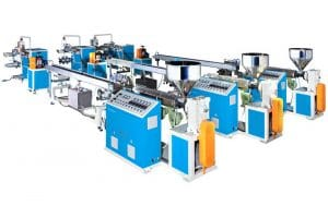 Profile Extrusion Machine Line