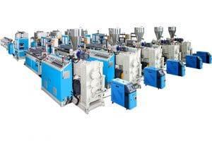 WPC Extrusion Machine Line