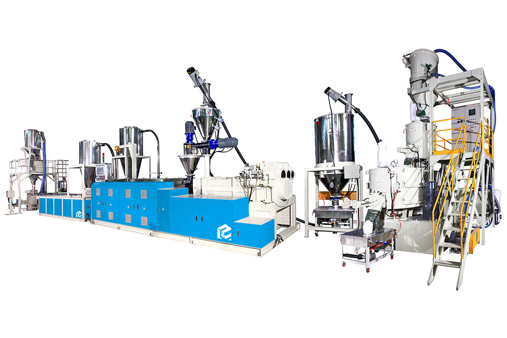 Compounding & Pelletizing System