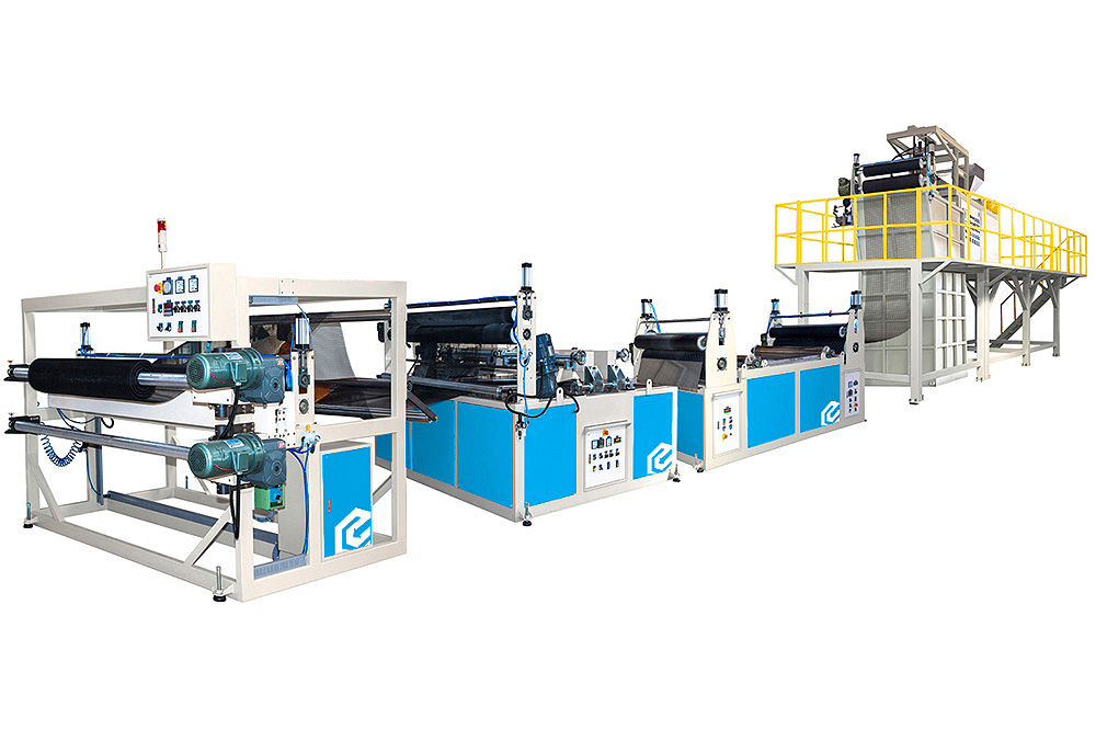 Plastic Net Making Machine Line