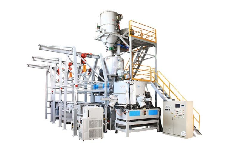 Pulverizing System With Mixer