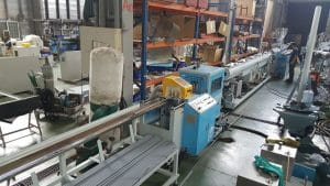 Case EMD-75 CPVC Pipe Extrusion Line