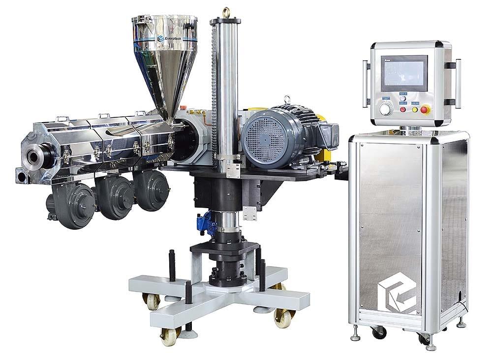 Everplast EMS-45-H Horizontal Type Co-Extruder Machine