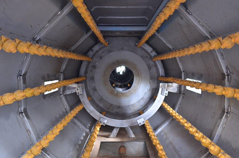 EPST Vacuum Spray Water Cooling Tank Machine