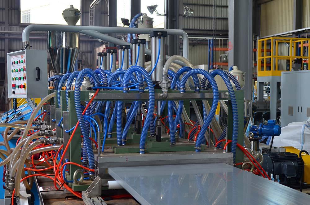 Everplast ERXT Profile Cooling Calibration Tank Machine For Door Panel