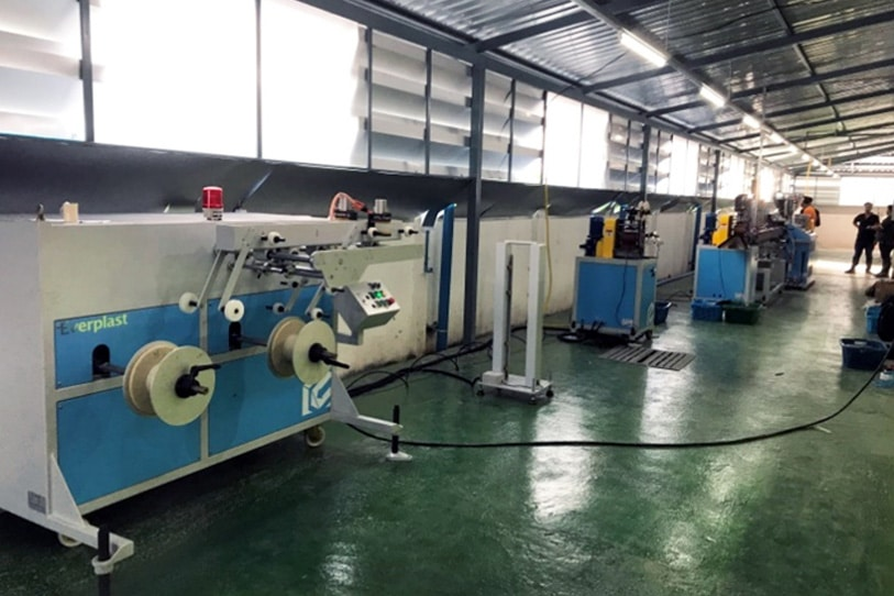 EMS-55 TPV Car Gasket Dual Type Machine Line