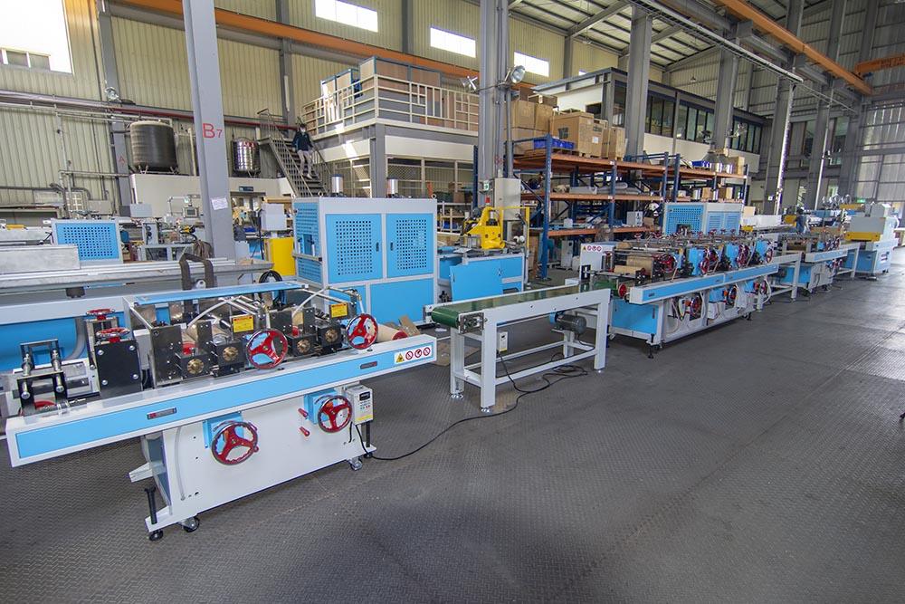 Edge Band Profile Extrusion Machine Line With Printing Machine