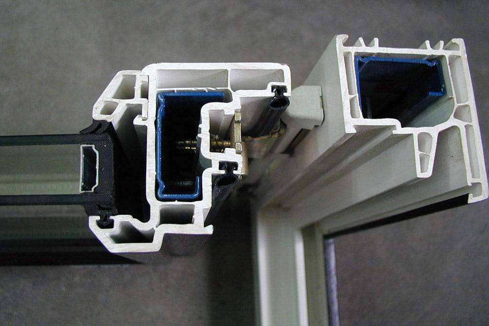 PVC Window Door Frame