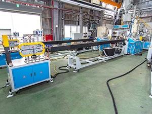 EMS-55, линия по производству уплотнений из ПВХ