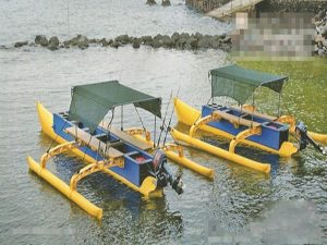 Boat Shape Made From 800mm PE Pipe