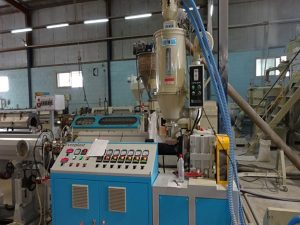 PE Pipe Extrusion Machine Line For Electrical Cable Application