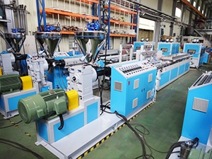 PE Plastic Timber Machine Line