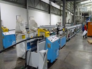 PE Silicon Pipe Extrusion Line