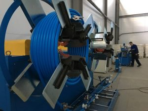 Winder For HDPE Pipe