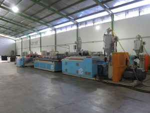 Wood Plastic Composite Extrusion Line
