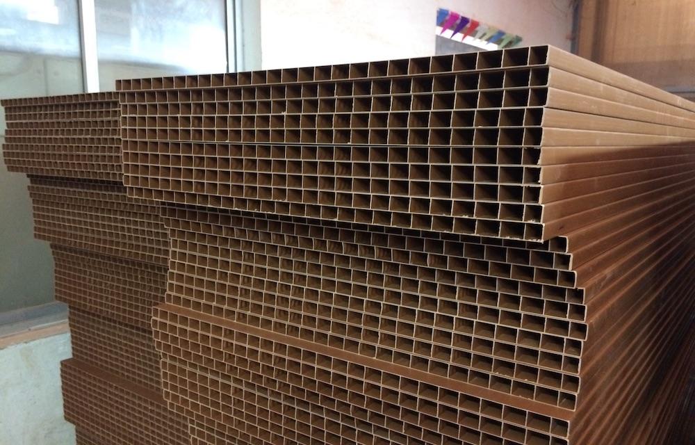 Double Layer For PVC Door Panel