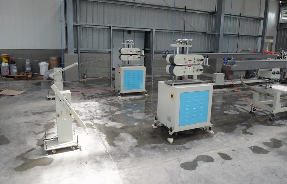 Extrusion Down Stream For Edge Band Product