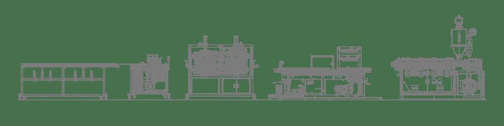 PVC Profile Machine Line Layout