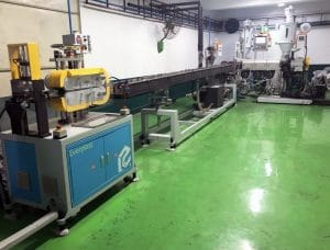 PVC TPV Car Gasket Machine Line