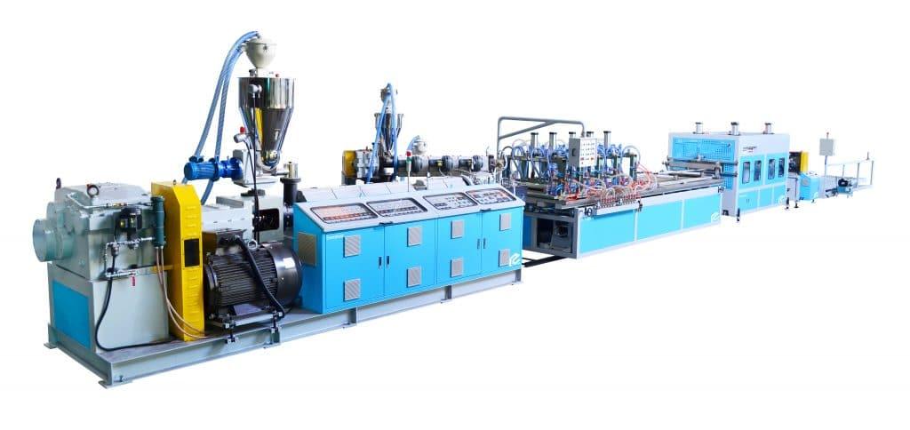 PVC Door Panel Extrusion Machine Line
