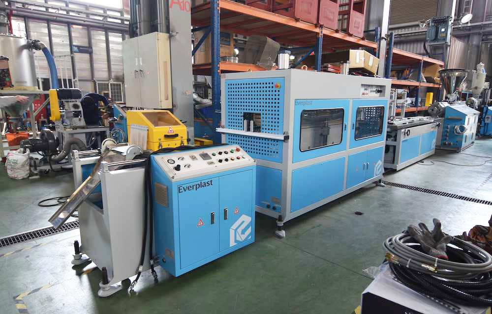 PVC Trunking Extrusion Machine Line