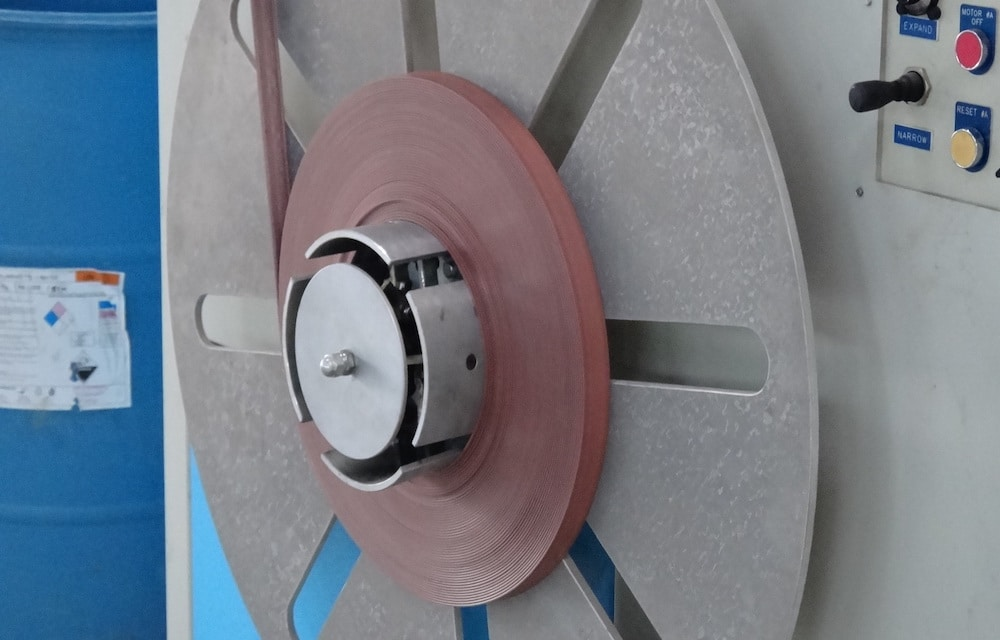 Winder For Edge Band