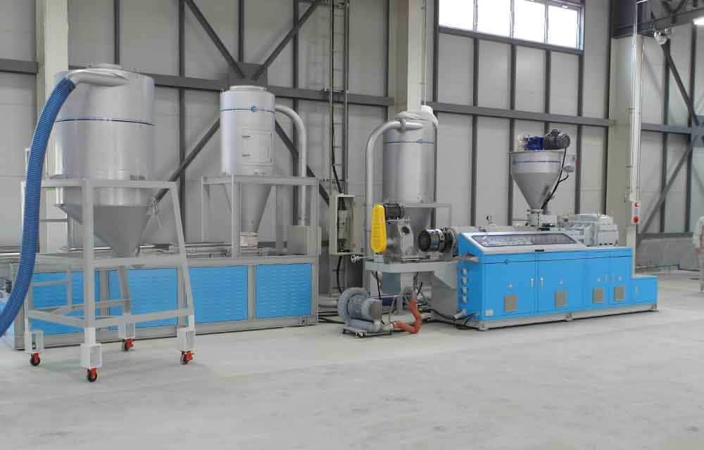 Whole Plant WPC Compounding Machine Line
