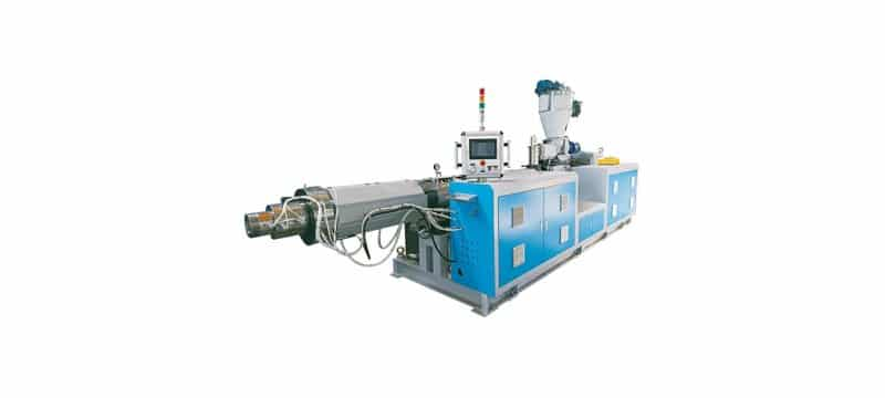 EMD-130 Parallel Type Twin Screw Extruder Machine