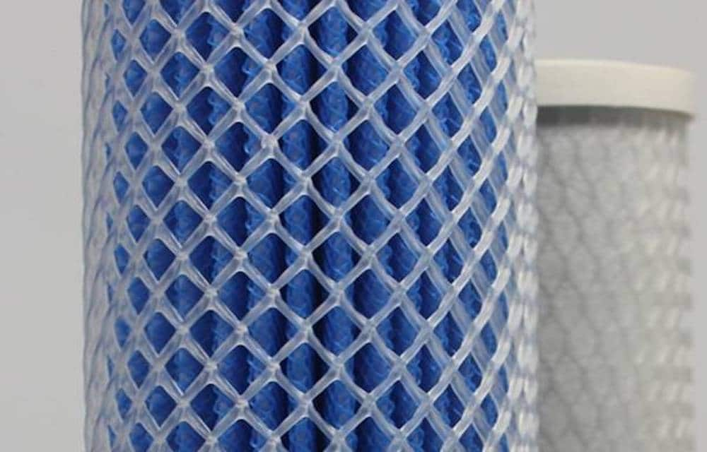 Diamond Net Pipe - Application