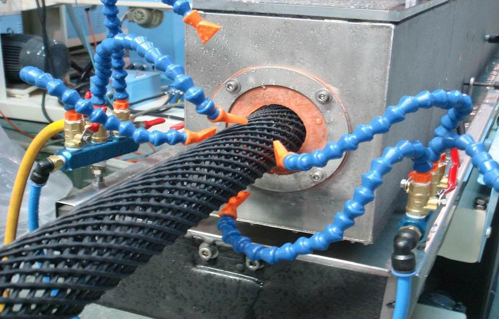 Diamond Net Pipe Machine Line