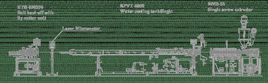 hdpe Pipe machine line