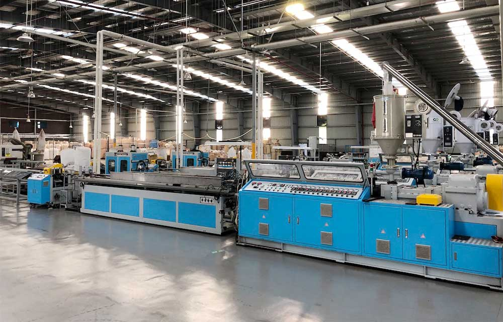 whole plant wpc machine line