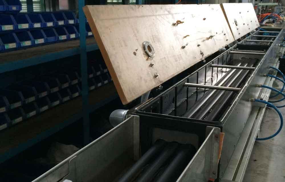 telecom pipe extrusion machine line