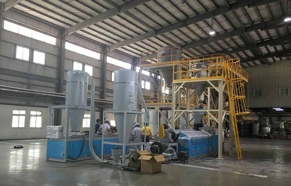 cpvc compounding machine line
