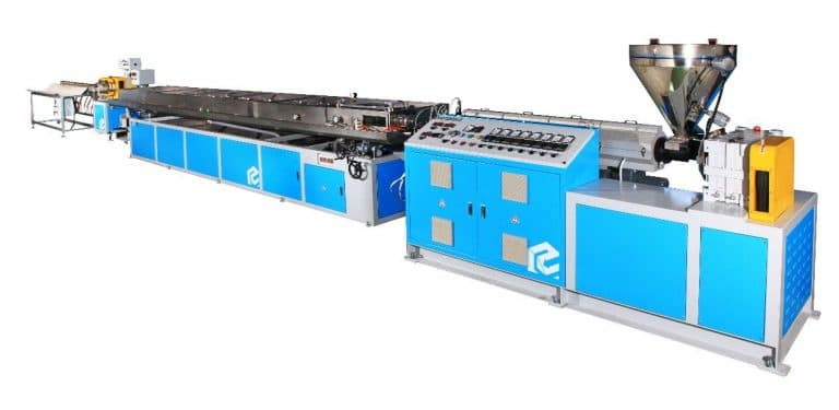EMS-75 High Speed PVC Medical Tube Extrusion Machine Line