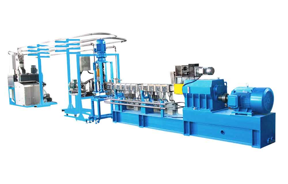 pe compounding machine line