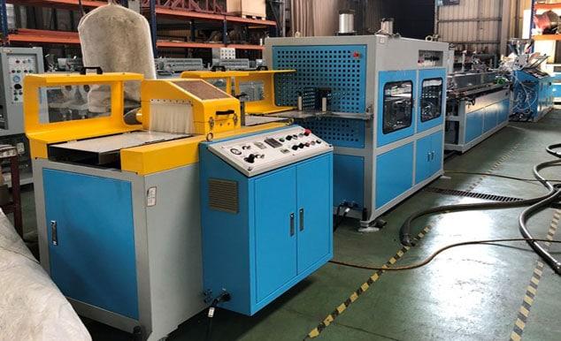 EMD-75+EMS-45 WPC Machine Line