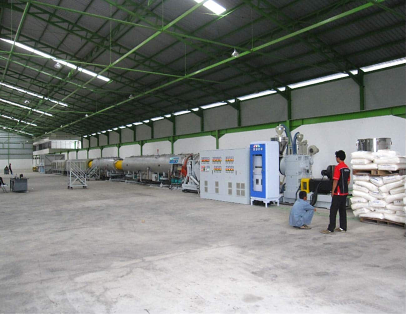 HDPE Pipe Extrusion Machine Line