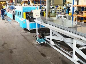 pvc door panel machine line