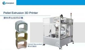 PELLET EXTRUSION 3D PRINTER