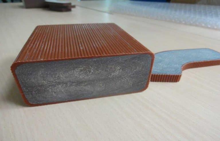 廢棄木屑回收製成PE PP 塑木 (6)