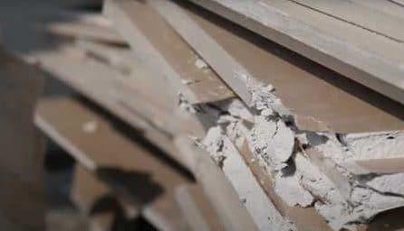 廢棄石膏板回收再製建材 (2)